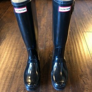 Hunter Rain Boots Original Gloss Tall